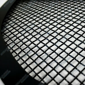 For 2011 2014 Chevy Silverado 2500 Hd 3500 Hd Stainless Black Mesh Grille