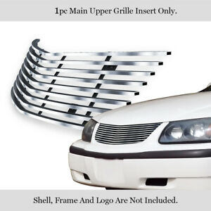 Fits 2000 2005 Chevy Impala Stainless Steel Billet Grille Insert