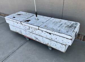 Vintage 1970 s Truck Utility Tool Box