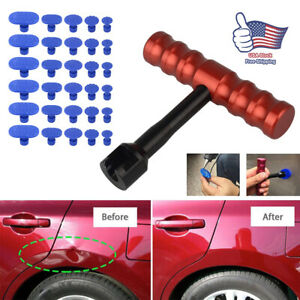 Car Door Body Pulling Tab Dent Removal Repair Tool Puller Tabs Accessories 30pcs