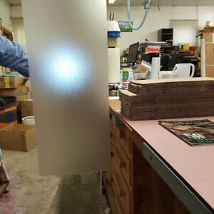018 X 8 7 8 X 27 Clear Frosted Textured Light Diffusing Plastic Sheets