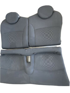 Mini Cooper S Checkered Pattern Front Rear Seats R56 07 13 Oem