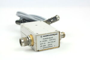 Rohde Schwarz Nap z6 25mhz 1ghz 1100w Power Sensor Head