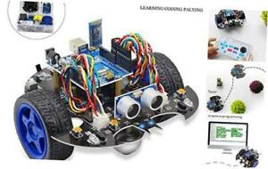 Yahboom Uno R3 Smart Robot Project Super Starter Learning Kit Diy Programmable