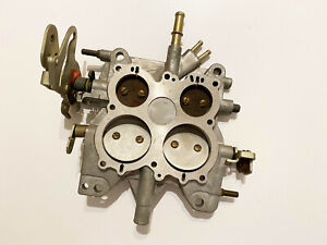 New Holley Carburettor Carburetor Spreadbore Baseplate Throttle Body 12r 4924 a