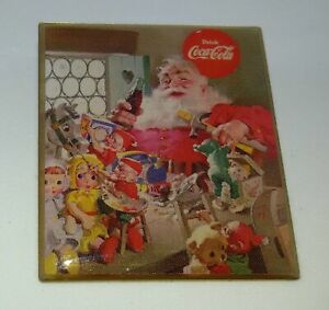 Coca Cola Pin Badge Christmas Santa Claus