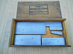 Starrett 154 Parallels Set Of 6 With Starrett Box