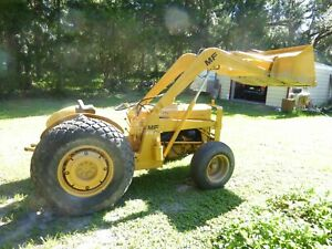 Massey Ferguson Mf20 Industrial 2wd Diesel Tractor With Front Loader