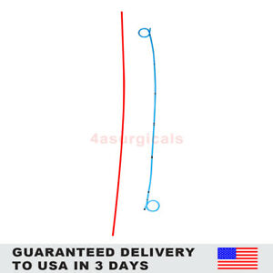 4a Dj Stent Set With Pusher Guidewire Clamp Urology 6fr 26cm 20 Pieces