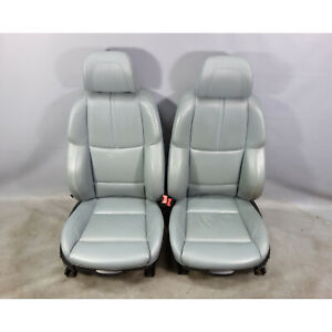 2008 2013 Bmw E90 E92 M3 Factory M Front Sports Seats Silver Leather Oem