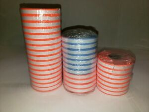 34 Rolls Orange White Blue White Monarch 1110 Store Price Tag Marking Gun Labels