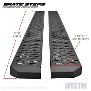 Westin 27 74725 Grate Steps Running Boards