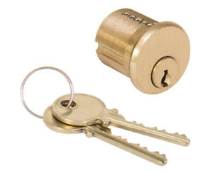 High Security Mortise Cylinder With 2 Angle Cut Keys