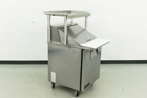 Used True Tssu 27 12m c Sandwich Prep Table W overshelf 555027