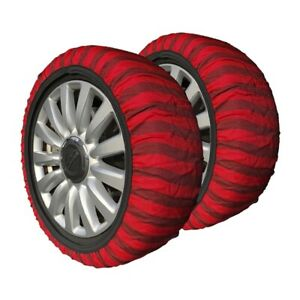 Isse Classic Textile Tire Chains Socks Snow Covered Roads 215 45 16
