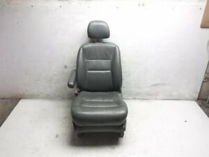 02 03 04 Honda Odyssey Exl Front Driver Left Leather Seat Gray 04815 s0x a60zb