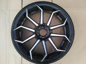Set Of 22 In Rims And Tires 225 30 22
