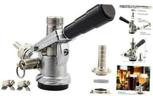 Mrbrew Beer Keg Coupler Us Sankey D System Tap With Stainless Steel Probe