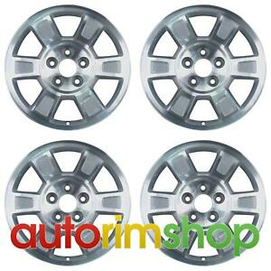 Honda Ridgeline 2008 2014 17 Oem Wheels Rims Full Set W out Tpms Slot