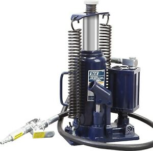 Tce 12 Ton Pneumatic Air Hydraulic Bottle Jack With Manual Hand Pump