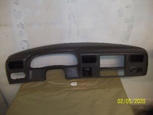 Oem 1999 2004 Ford F 250 350 450 550 Super Duty Dash Cluster Bezel