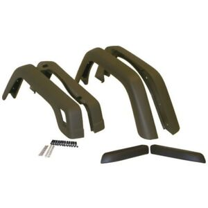 Crown 55254918k6 Fender Flares For 97 2006 Jeep Wrangler Tj 4pc