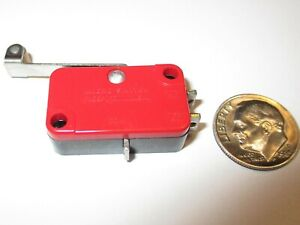 Micro Switch honeywell Snap action limit Switch Roller V3l 11 Nos 1 Pcs