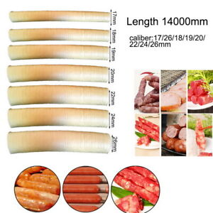 Natural Sausage Casings Skin Collagen Casing Smoked Fresh Roast Hot Dog