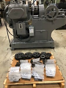 Landis E763 Threading Machine 1 1 2 Max Diam W leadscrew Lots Of Chasers