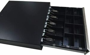 Cash Drawer W Stainless Steel Face 16 Money Box Heavy Duty