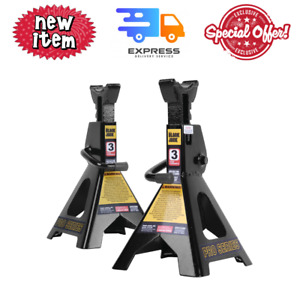 6000 Lb Three Ton Jack Stands Pair For Garage Car Truck Lift Tire Change Lifting