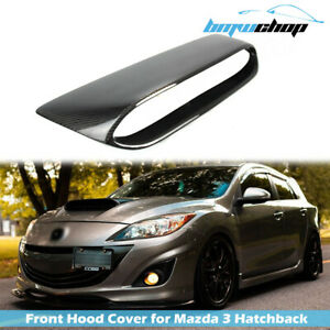 Fit For Mazda 3 Fit For Mazdaspeed 2nd Bl Sedan 5d Mps Front Hood Vent Carbon
