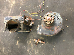 1966 71 Jeep Cj5 Heater Box Inner Outer With Fan And Core