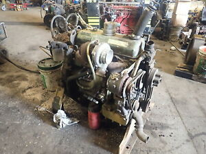 Detroit Diesel 4 53t Turbo Silver Engine Runs Mint Video 4 53 453t Gm Bypass