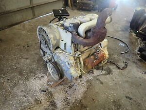 Deutz F3l912 Diesel Engine Runs Exc Video Compressor Ditch Witch Vermeer 912
