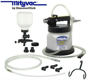 New Mityvac Mv6835 Brake Fluid Bleeder Kit Brakes Clutch Vacuum Bleeding 6830