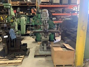 Bridgeport Milling Machine 9 X 42 Table J Head Tooling