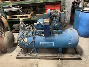 Air Compressors 5 Hp Compair Kellogg Air Compressor
