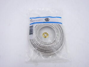 Devco 6333w Electrical Wire White Pack Of 50ft 14 Gauge Stranded 19 Strands