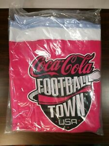 Coca-Cola Football Town  USA Inflatable Cooler of Cans and Bottles