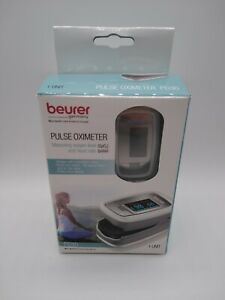 Beurer Pulse Oximeter Po30 And Case Measuring Oxygen Levels Heart Rate