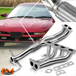 For 93 97 Ford Probe Mazda Mx6 2 0l 4cyl Stainless Steel 4 2 1 Exhaust Header
