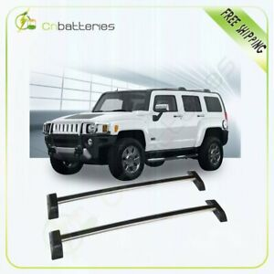 Oespes Roof Rack Cross Bars For 2006 2010 Hummer H3 H3t Luggage Carrier