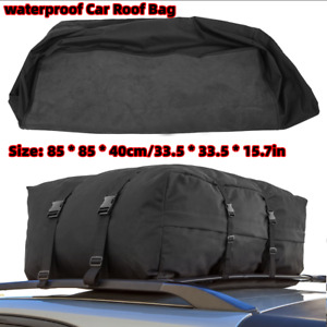 Car Van Suv Auto Roof Top Cargo Rack Carrier Soft Waterproof Luggage Travel Bag