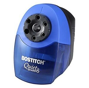 New Bostitch Quietsharp 6 Heavy Duty Classroom Electric Pencil Sharpener Eps10hc