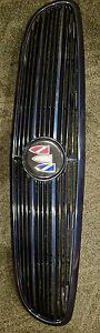 1997 2004 Buick Regal Gs Ls Front Painted Grill Midnight Blue 10287930 As Is