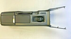 2014 Ford Mustang Manual Transmission Center Console Assembly Black Oem