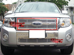 Fits 2008 2011 Ford Escape Stainless Mesh Grille Insert
