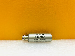 Boonton 952002 10 Khz To 1 2 Ghz Bnc f Terminated Adapter For Rf Probes Tested