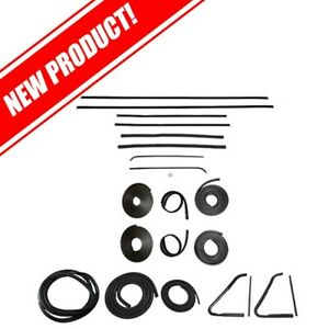 1954 To 1955 Chevy Gmc Truck No Reveal Molding Body Weatherstrip Kit